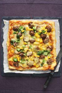 Köttbullepizza