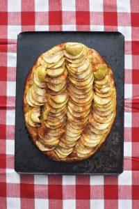 Äppelpizza