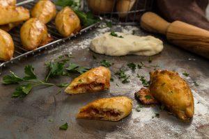 Piroger med salsiccia