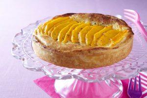 Kryddig mango- och mascarponepaj