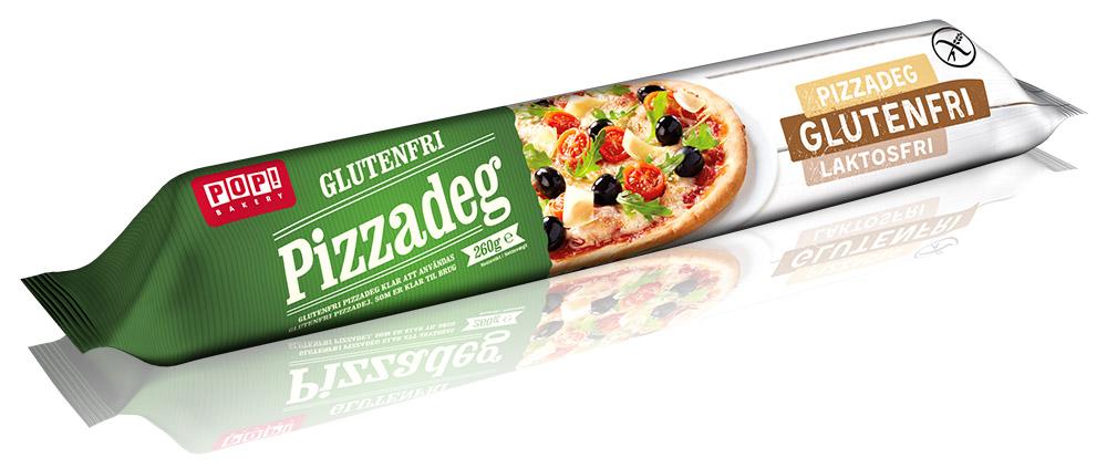 PopBakery Glutenfri Pizzadeg