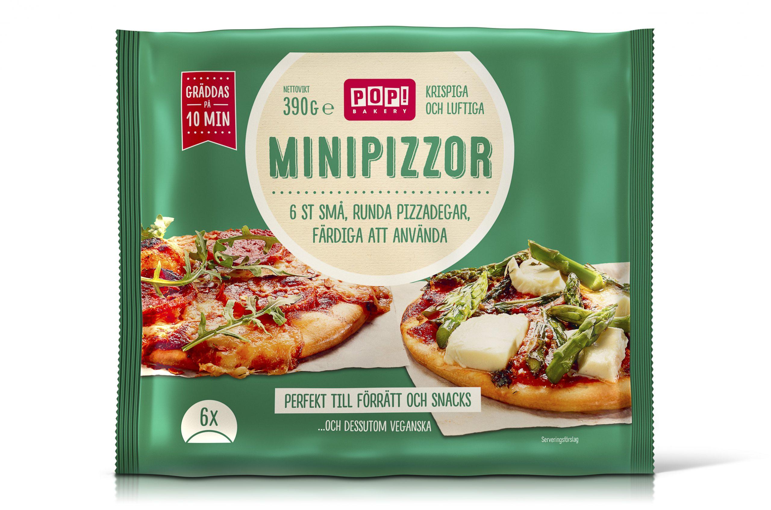 Bild på Minipizzor-förpackning