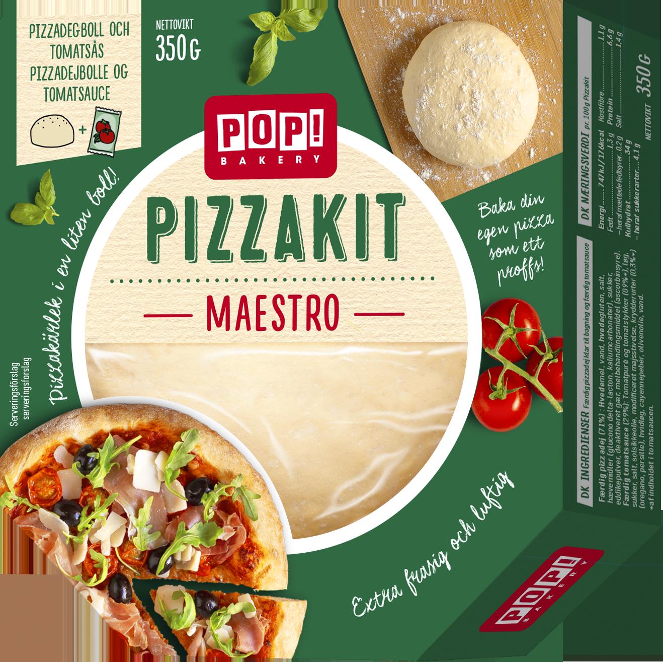 pizzakit maestro
